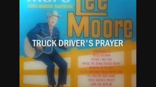 Lee Moore Coffee Drinking Nighthawk Truck Driver
