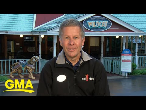 Six Flags Reveals Reopening Plans For Theme Park L GMA