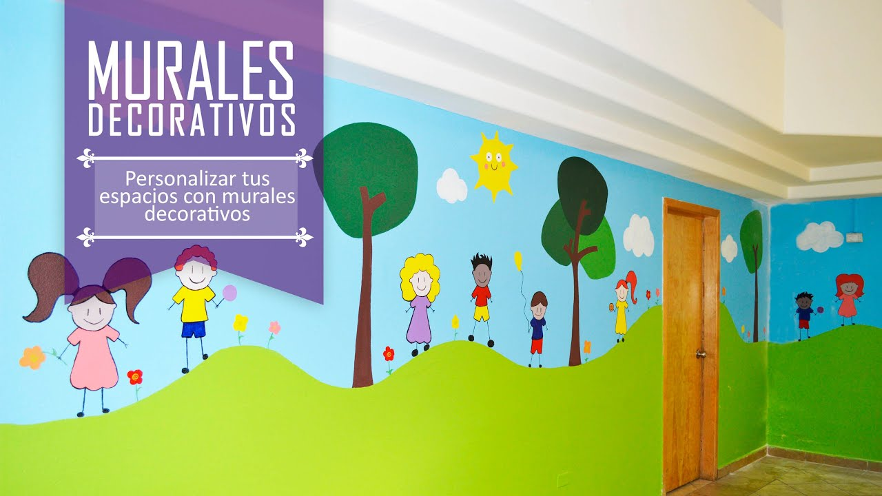 14 murales para albergue infantil youtube for Decoracion de guarderias