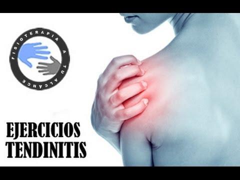 Como aliviar el dolor de hombro por tendinitis