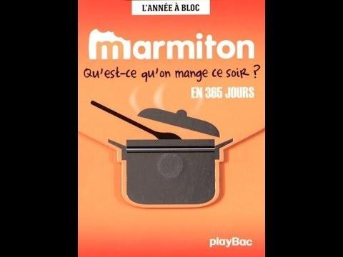 Telecharger Calendrier 365 jours de recettes Marmiton , L\u0027année à bloc PDF  EPUB