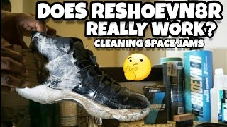 DOES RESHOEVN8R REALLY WORK? CLEANING TEST WITH SPACE JAMS