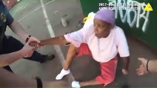 Полицейская собака напала на женщину возле ее дома сша полиция полиция сша применение оружия