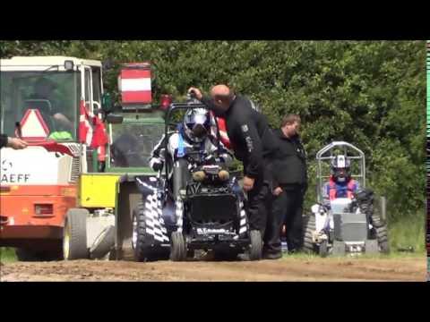 350 kg og 500 kg i Hedensted Pulling Arana - 2015