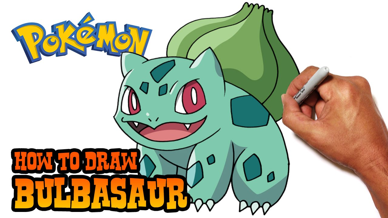 how to draw bulbasaur pokemon youtube