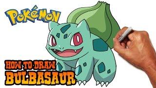 How to Draw Bulbasaur | Pokemon
