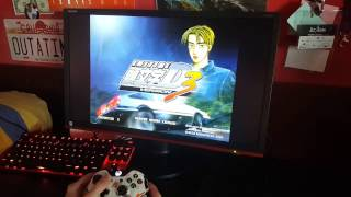 Initial D Arcade Stage Ver. 3 - card reader works! | Xbox One gamepad