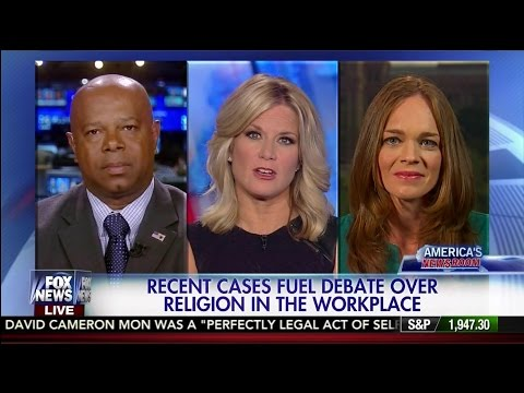 Freedom of Religion in Workplace Debated- David Webb