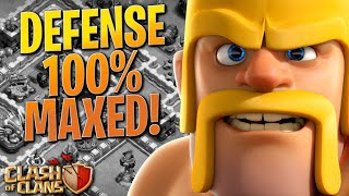 WHAT AM I SUPPOSED TO DO NOW!? NO MORE DEFENSES LEFT! TH12 Farm to Max | Clash of Clans