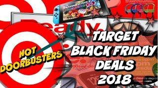 2018 TARGET BLACK FRIDAY AD W/ DOORBUSTER DEALS!!