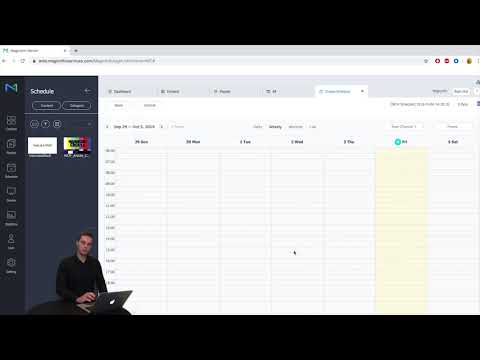 MagicInfo Services Shows How To Get Content On Your Display