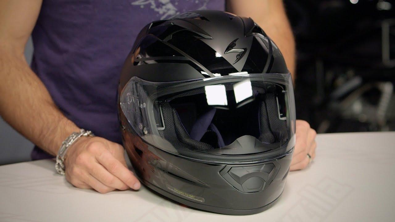 09bc385a Scorpion EXO-T1200 Freeway Helmet Review at RevZilla.com - YouTube