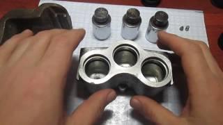 Сборка,разборка переднего тормозного цилиндра автомобиля НИВА