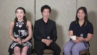 Nathan Chen and Karen Chen | Jump On It! Camp Facebook Live