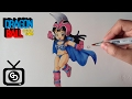 Drawing Chichi ( Partner Son Goku - Dragon Ball )