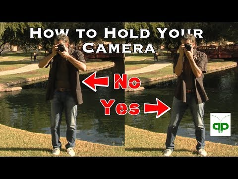 Best Camera Stance - Correct Shooting posture