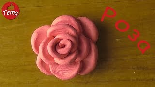 Как слепить розу из пластилина Поделки из пластилина на 8 марта #forkids #изпластилина #8марта