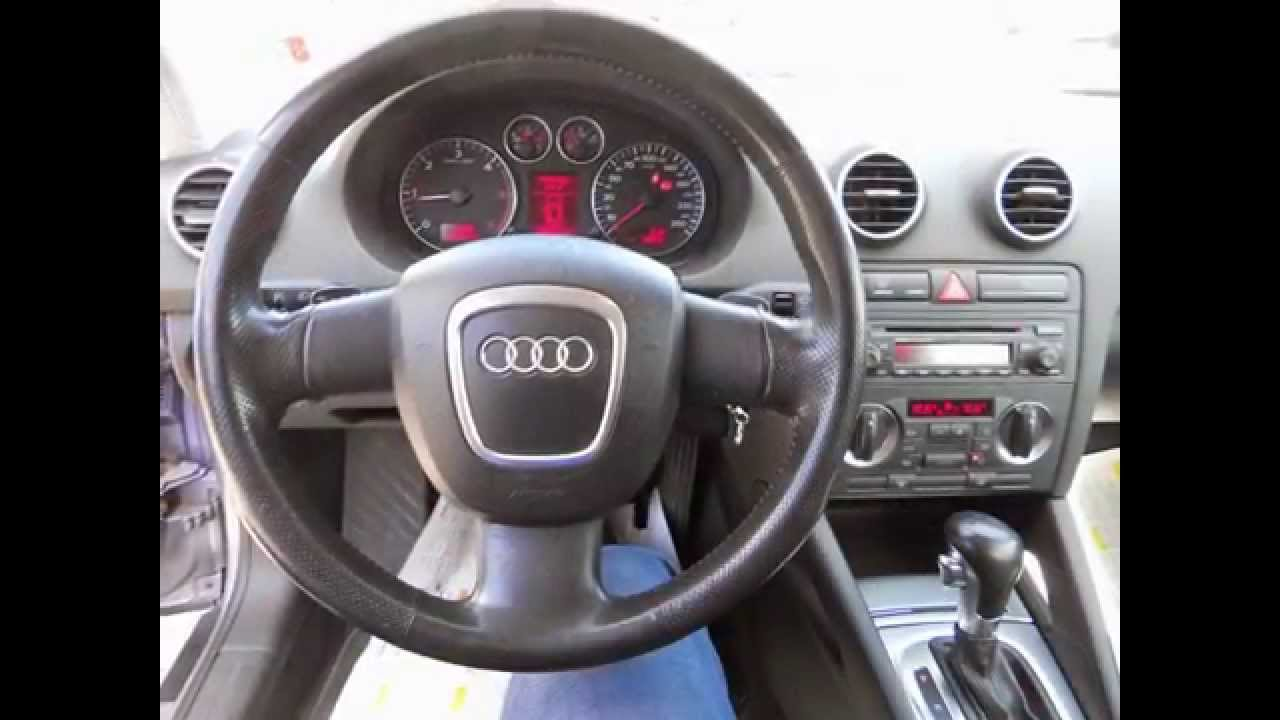 audi a3 2 0 tdi 140 cv spb cambio automatico 2005 perfetta. Black Bedroom Furniture Sets. Home Design Ideas