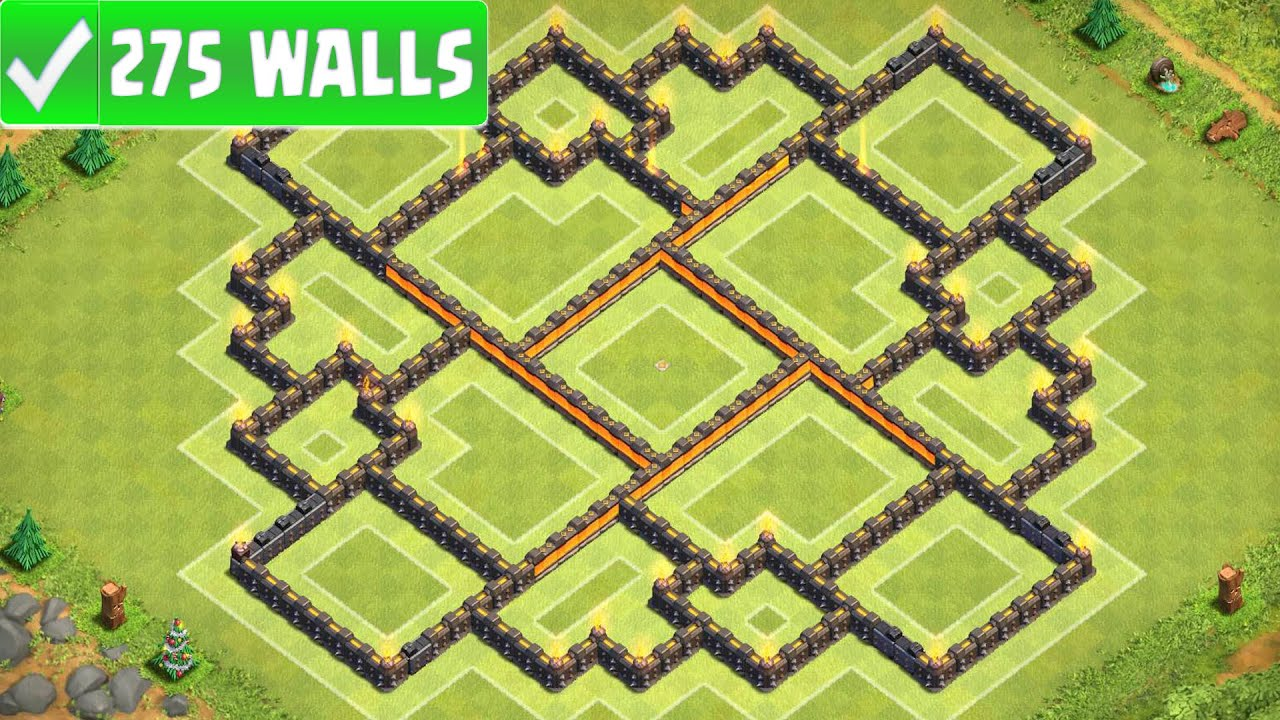 Clash of clans quot new quot best town hall 10 th10 farming base w 275