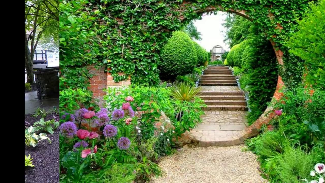 Garden Path Ideas - Garden Path Design Ideas 2019 - YouTube