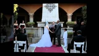 Red & Black Wedding - Villa Siena - Sarah & John ~ September 21, 2013