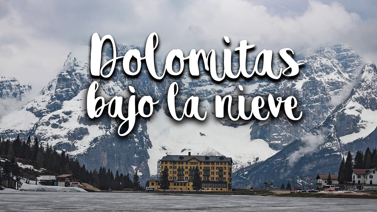 DOLOMITAS. Increíbles paisajes NEVADOS ❄️