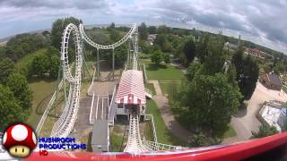 Boomerang, Pleasure Island, Front row POV