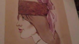Женская шляпа типа