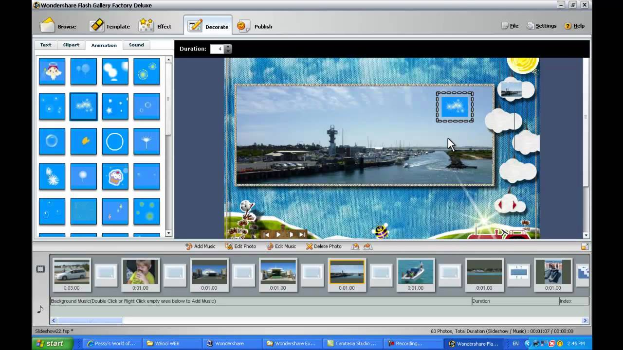Wondershare Flash Gallery Factory Deluxe - PW Tutorial Part 2 of 2 - YouTube