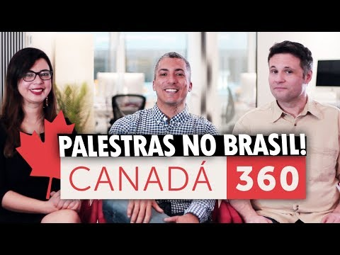 VAMOS NOS ENCONTRAR NO BRASIL PARA FALAR SOBRE O CANADÁ NO EVENTO IMPERDÍVEL!!!