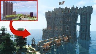 Transforming Jacksepticeye's Minecraft Base
