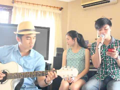 """"""" Dấu Mưa """" - Cover acoustic- Thục Đoan ft Nguyễn Thành Lộc"""