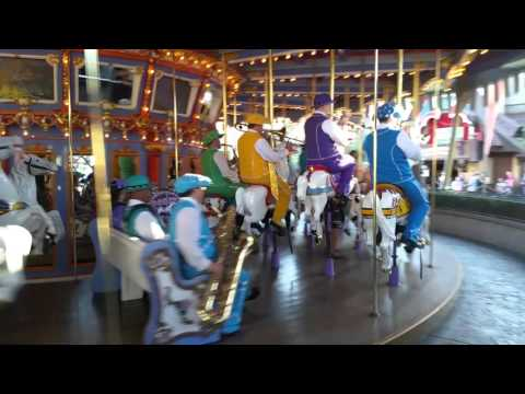 Live music on the disney merry go round