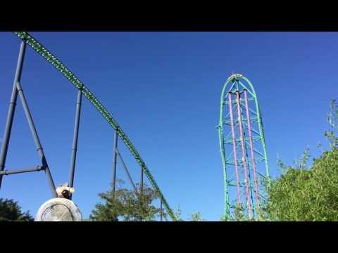 Kingda Ka, the tallest roller coaster in the world