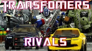 Transformers Rivals - 500 Subscriber Special - Transformers Stop Motion Video!