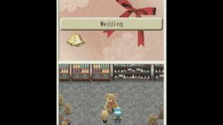 Harvest Moon Island of Happiness proposal and marriage to Witch Princess