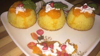 Eggless orange cupcake recipe in hindi - Eggless cupcakes recipe - Dessert/sweet dish