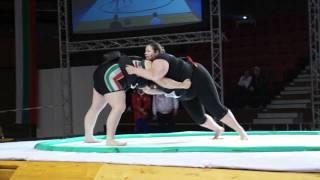WU - +95kg - Semi-Final - Harteveld Francoise (NED) vs MAKAI Erika (HUN)