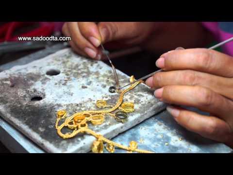 การทำเครื่องทองโบราณสุโขทัย (Making gold ancient Sukhothai)