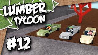 Lumber Tycoon 2 #12 - VOLCANO DERBY RACE w/Imaflynmidget & CodePrime8 (Roblox Lumber Tycoon)