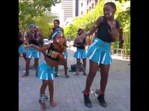 4-Year Old Girl In Cape Town, Africa Dance -- A Must See (VIDEO)