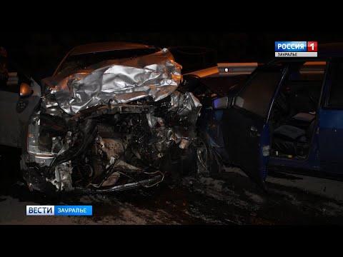 В Кургане в ДТП погиб водитель иномарки