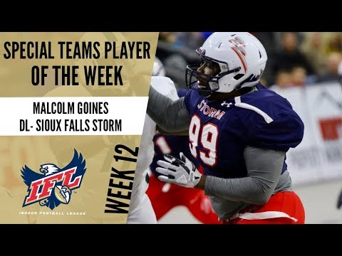 Week 12 Special Teams Player of the Week: Malcolm Goines