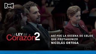 La Ley Del Corazón 2 l Así fue la escena de celos que protagonizó Nicolás Ortega