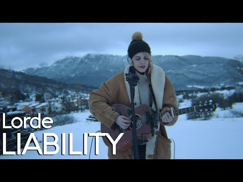 Lorde - Liability - Acoustic Cover By Claire Audrin