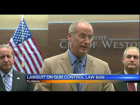 Video: Cities file suit against state for gun control ban - selection