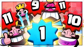 The ULTIMATE Royale Revenge - Funny Moments in Clash Royale! Level 1!