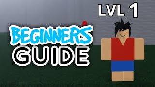 BEGINNERS GUIDE TO ONE PIECE: LEGENDARY! | ROBLOX