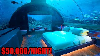Top 10 LUXURIOUS Hotel Rooms YOU WON'T BELIEVE EXIST