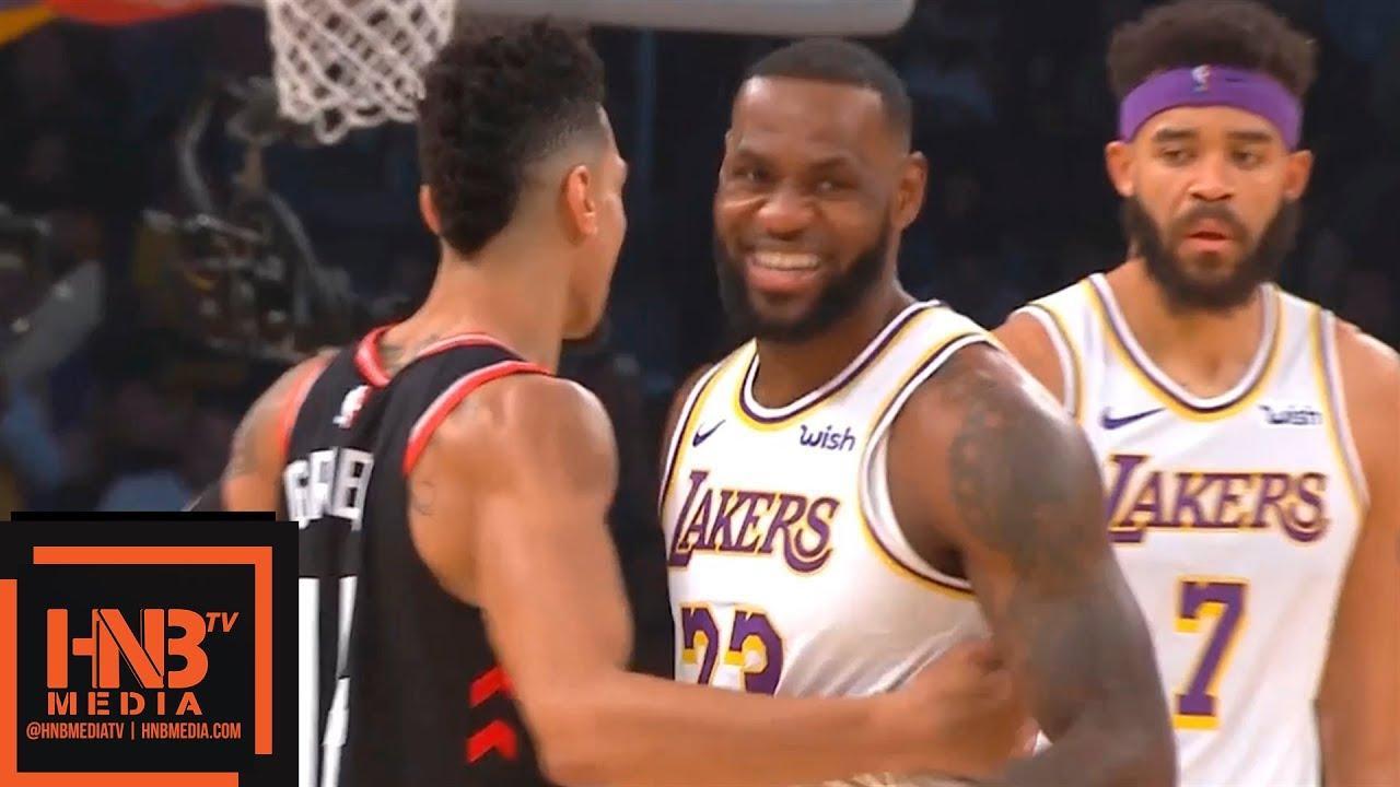 Los Angeles Lakers vs Toronto Raptors 1st Half Highlights | 11.04.2018, NBA  Season - YouTube